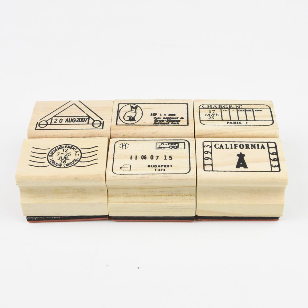 【お得なセットです】7321DESIGN Journe rubber stamps-A