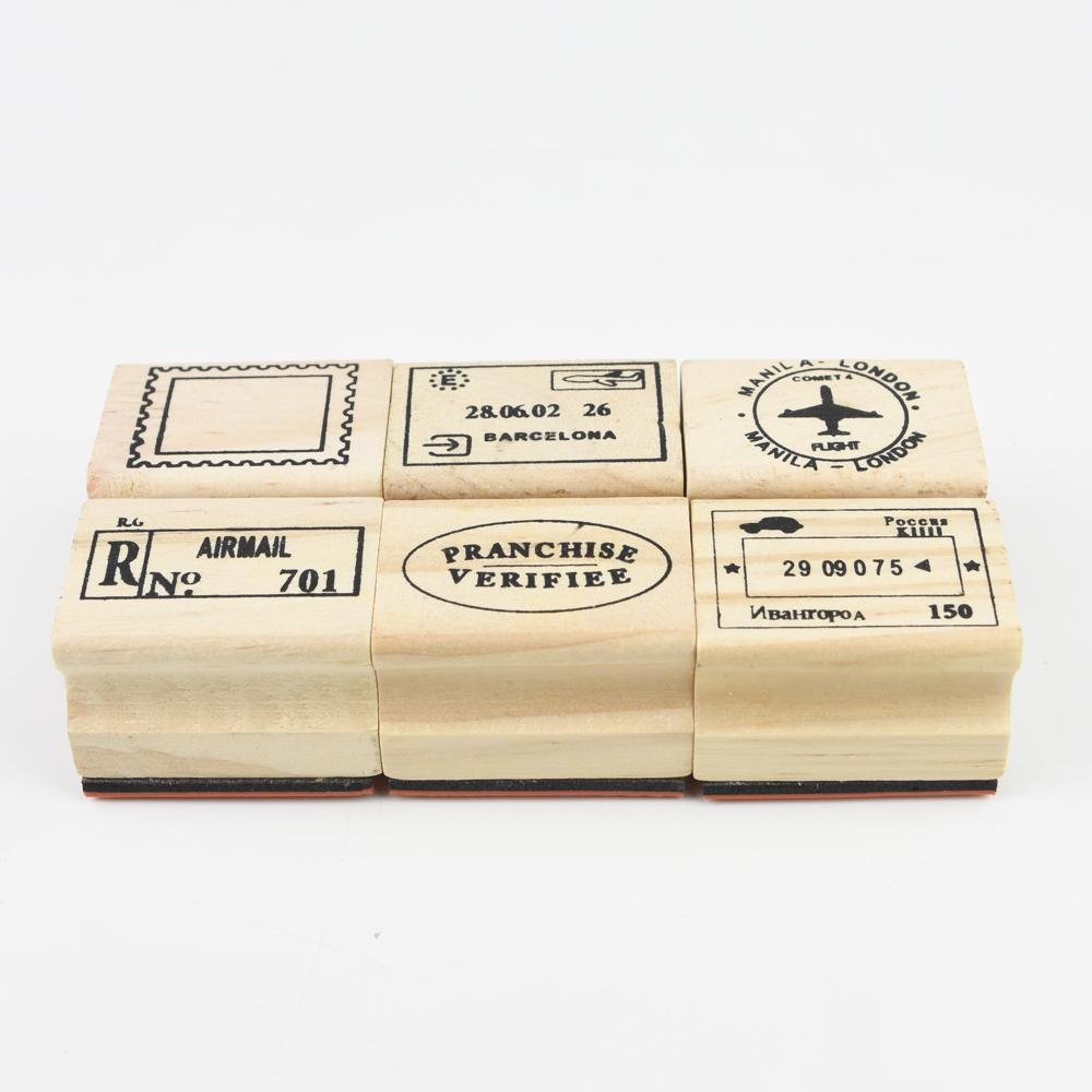 【お得なセットです】7321DESIGN Journe rubber stamps-B