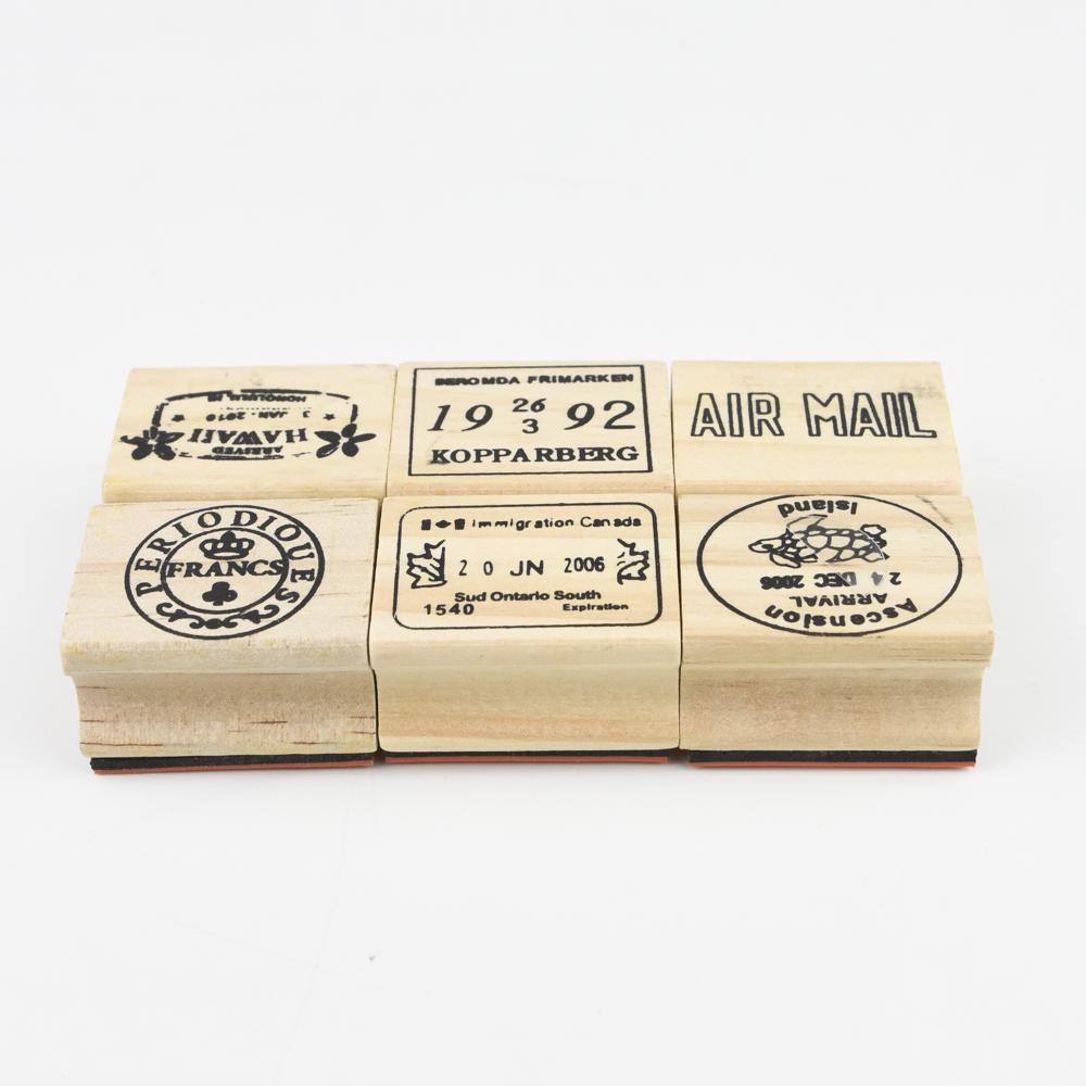 【お得なセットです】7321DESIGN Journe rubber stamps-D