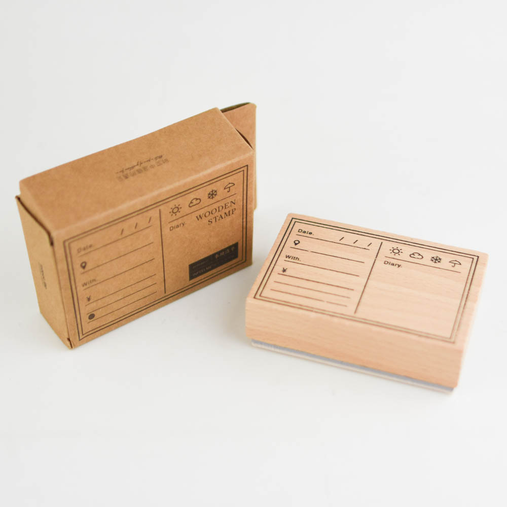 In feel me-wooden stamp  一覧 YZ-9371