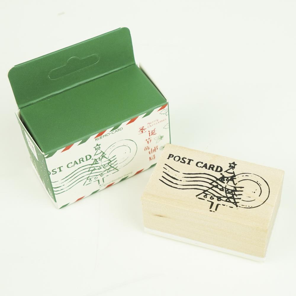 クリスマスのスタンプ MO・CARD (陌墨)ポストカード MMK09B139