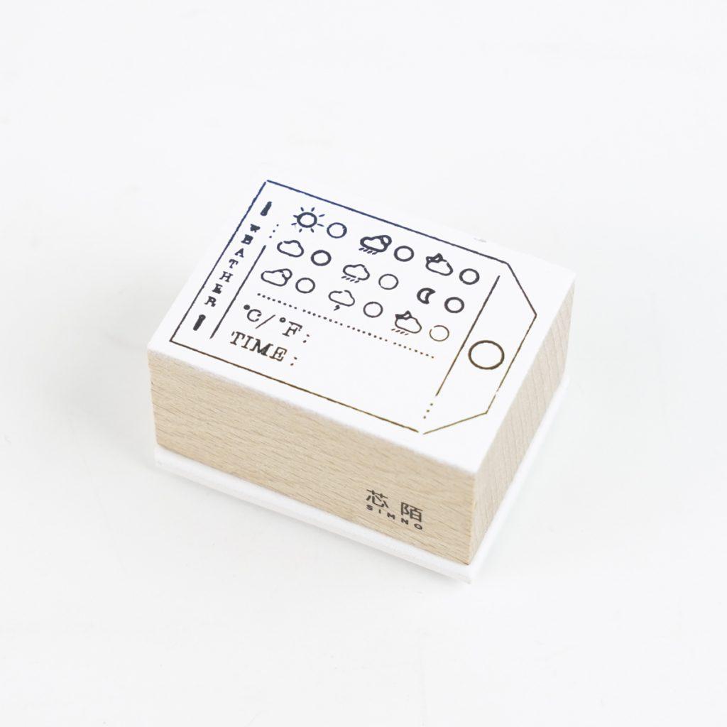 お天気スタンプ SIMNO(芯陌) BAROMETER SI-8949