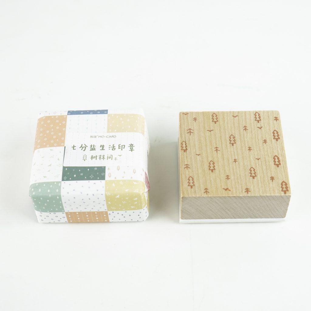 森のスタンプ MO・CARD (陌墨)スタンプ 生活印章  樹林間 MMK09C194