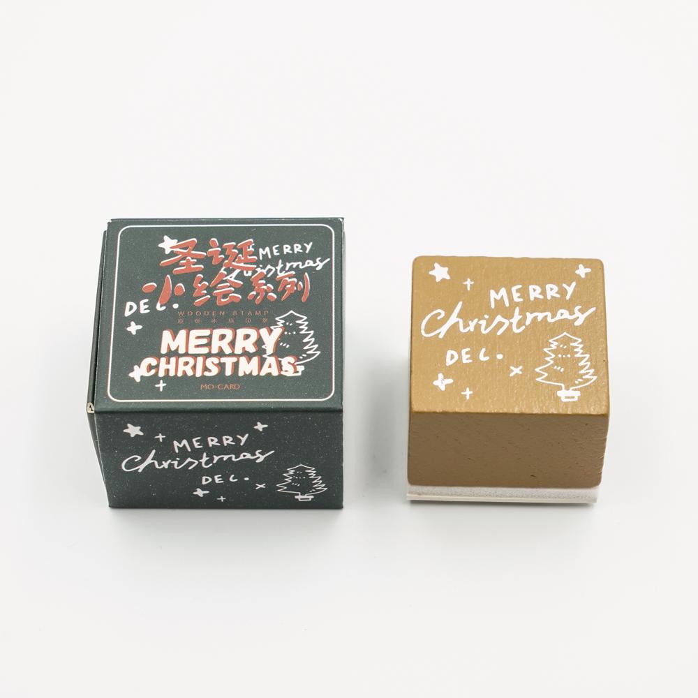 クリスマスのスタンプ MO・CARD (陌墨)ツリー MMK09C211