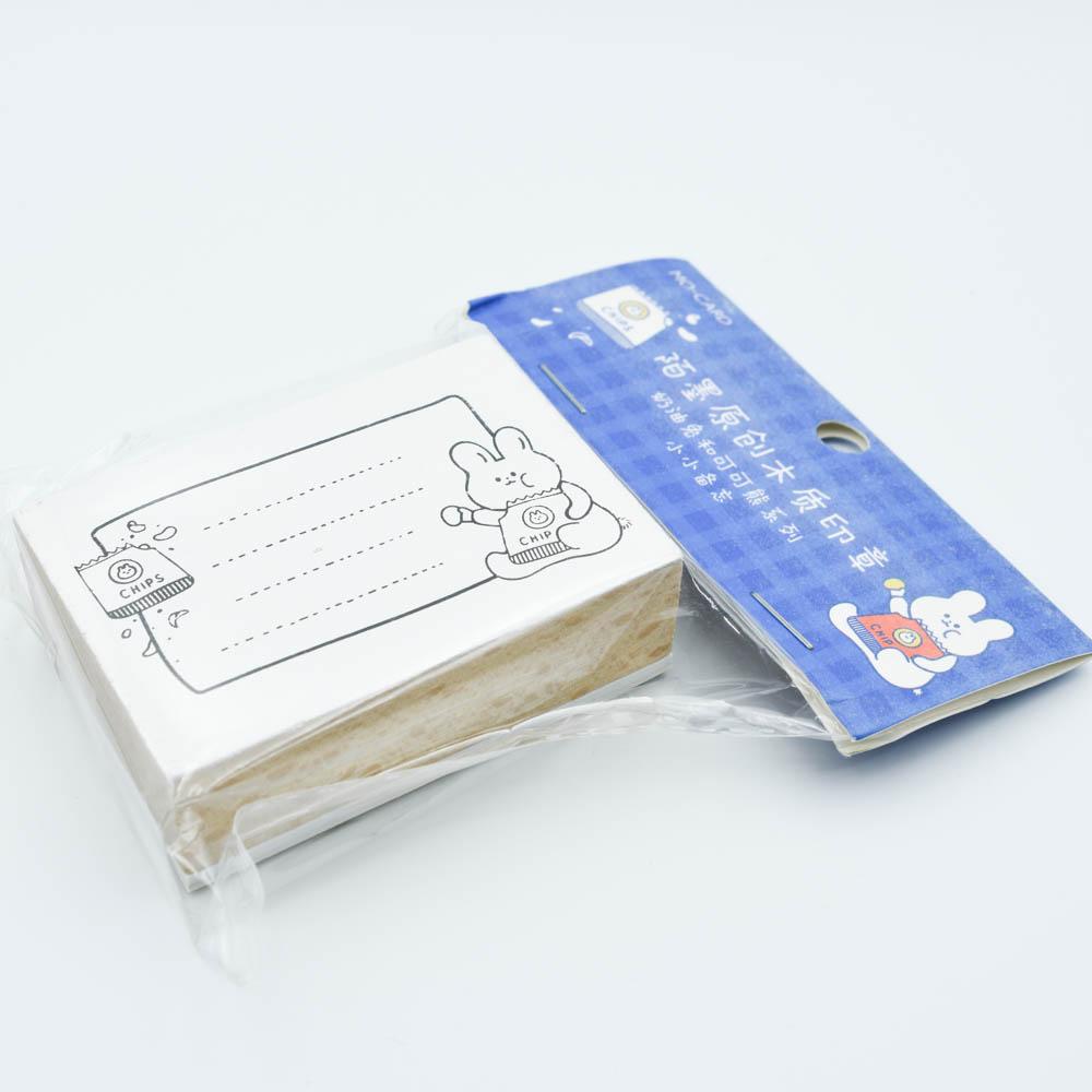 【SALE】うさぎのメモスタンプ  MO・CARD (陌墨)MMK09C317