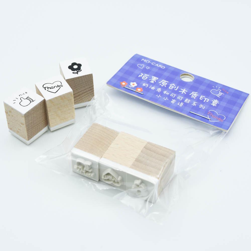 可愛いスタンプセット  MO・CARD (陌墨)MMK09C314