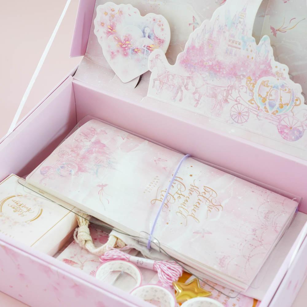 【数量限定商品】 芯陌 SIMNO デザインペーパーとマステのスペシャルBOX 桜