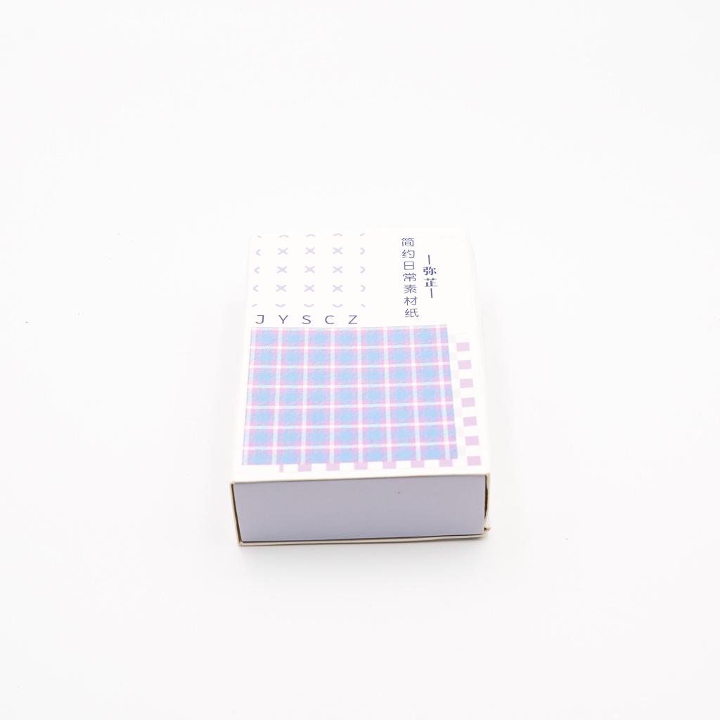 デザインペーパー BOX パープル系