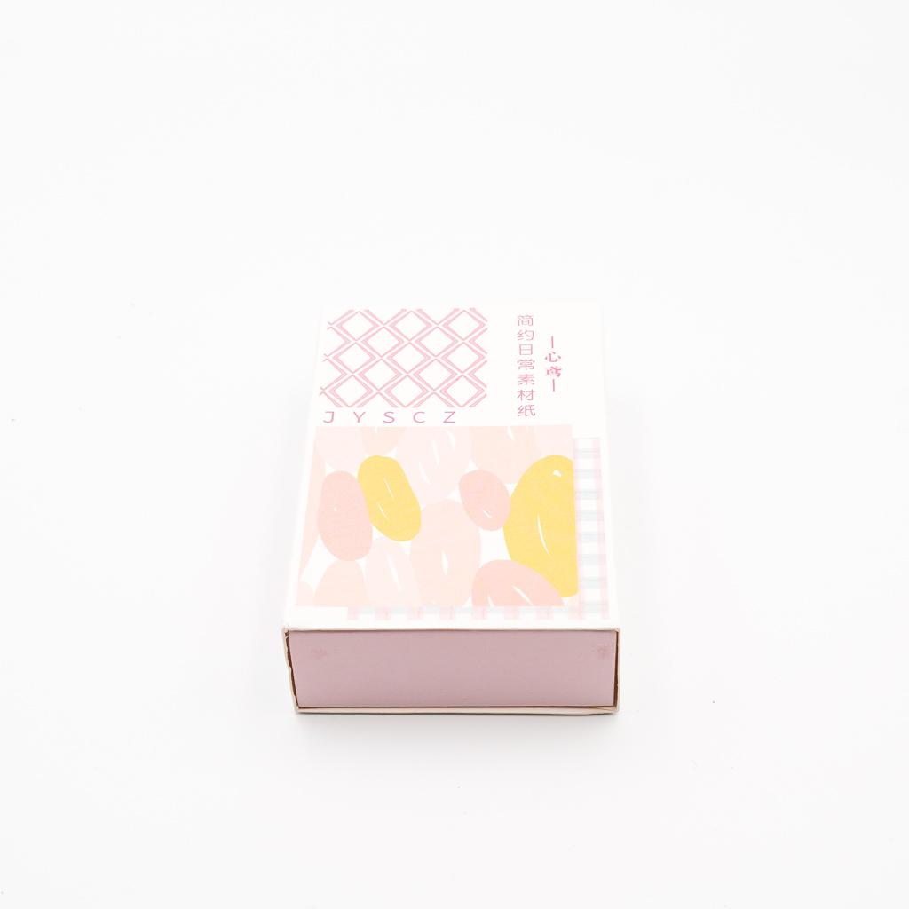 デザインペーパー BOX ピンク系