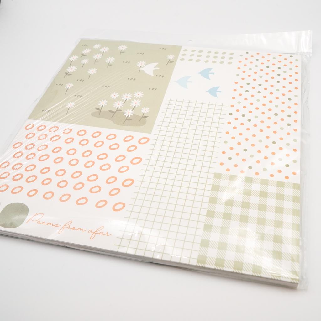 かわいいデザインペーパー 野菊
