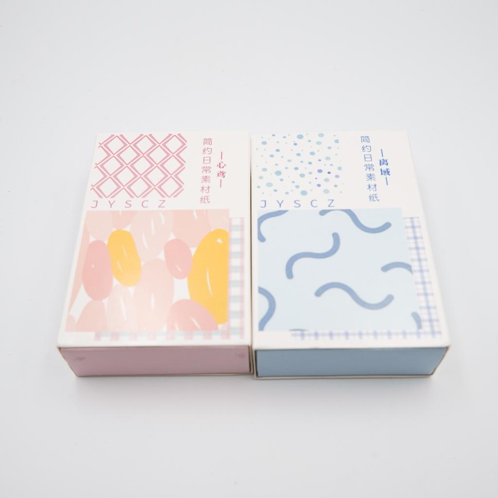 【訳あり価格】デザインペーパー BOX 2個セットA