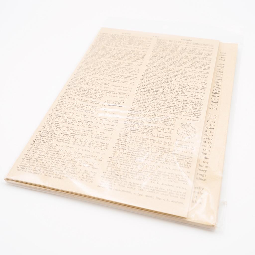 アンティークな素材紙・茶色