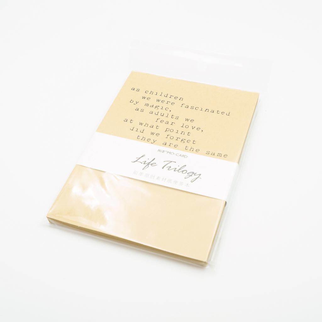 MO・CARD  素材紙 Life