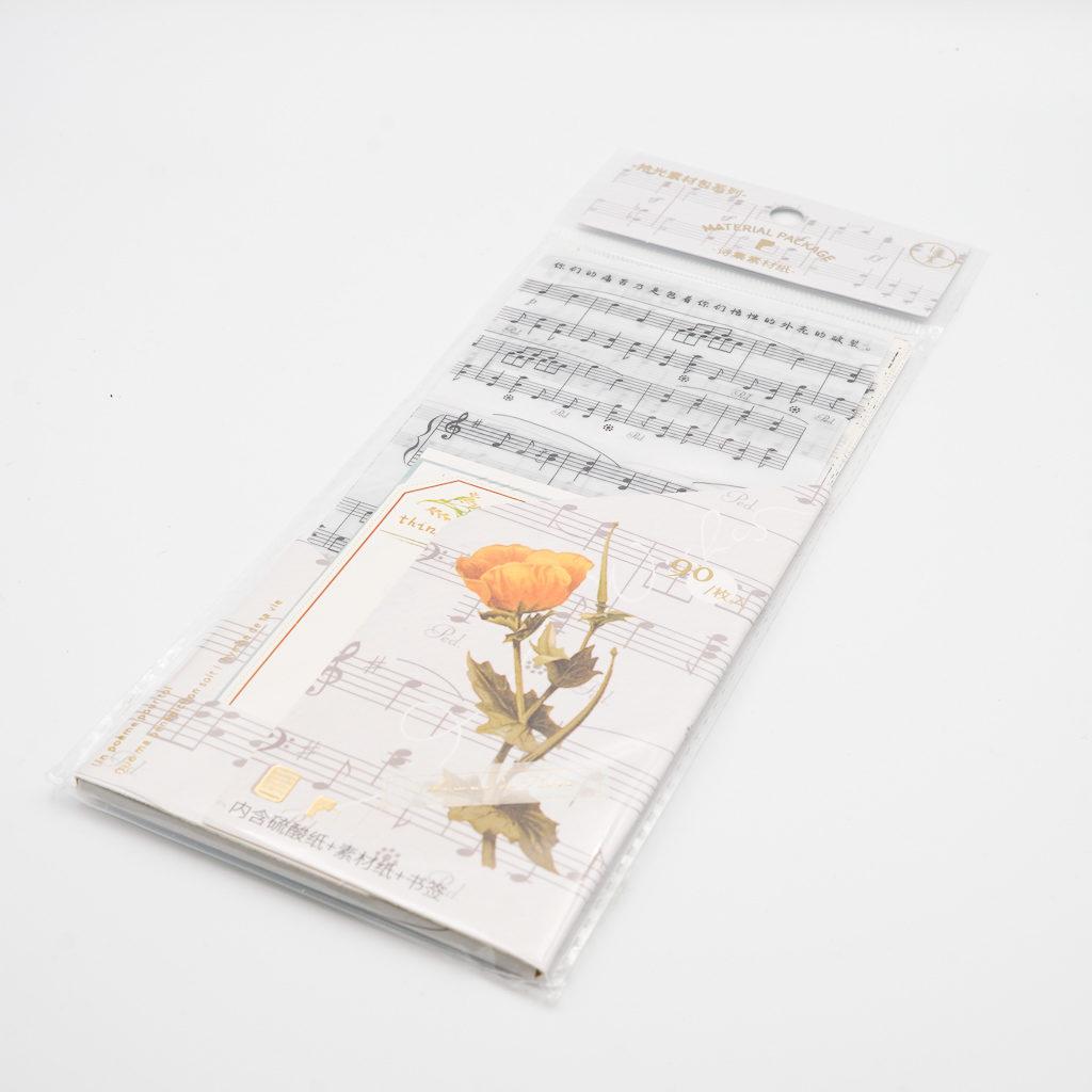 ミシン目加工入 素材紙b