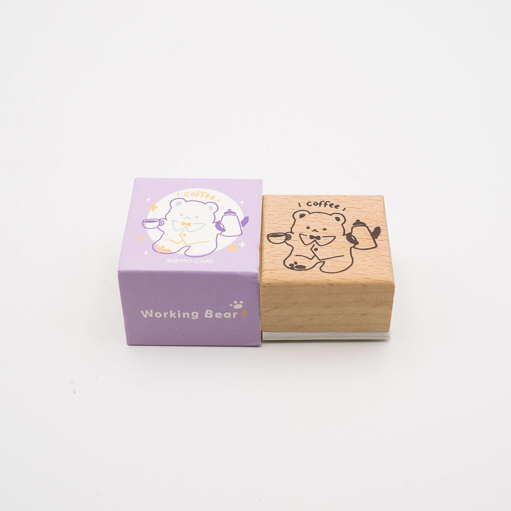 可愛いくまスタンプ MO・CARD 062