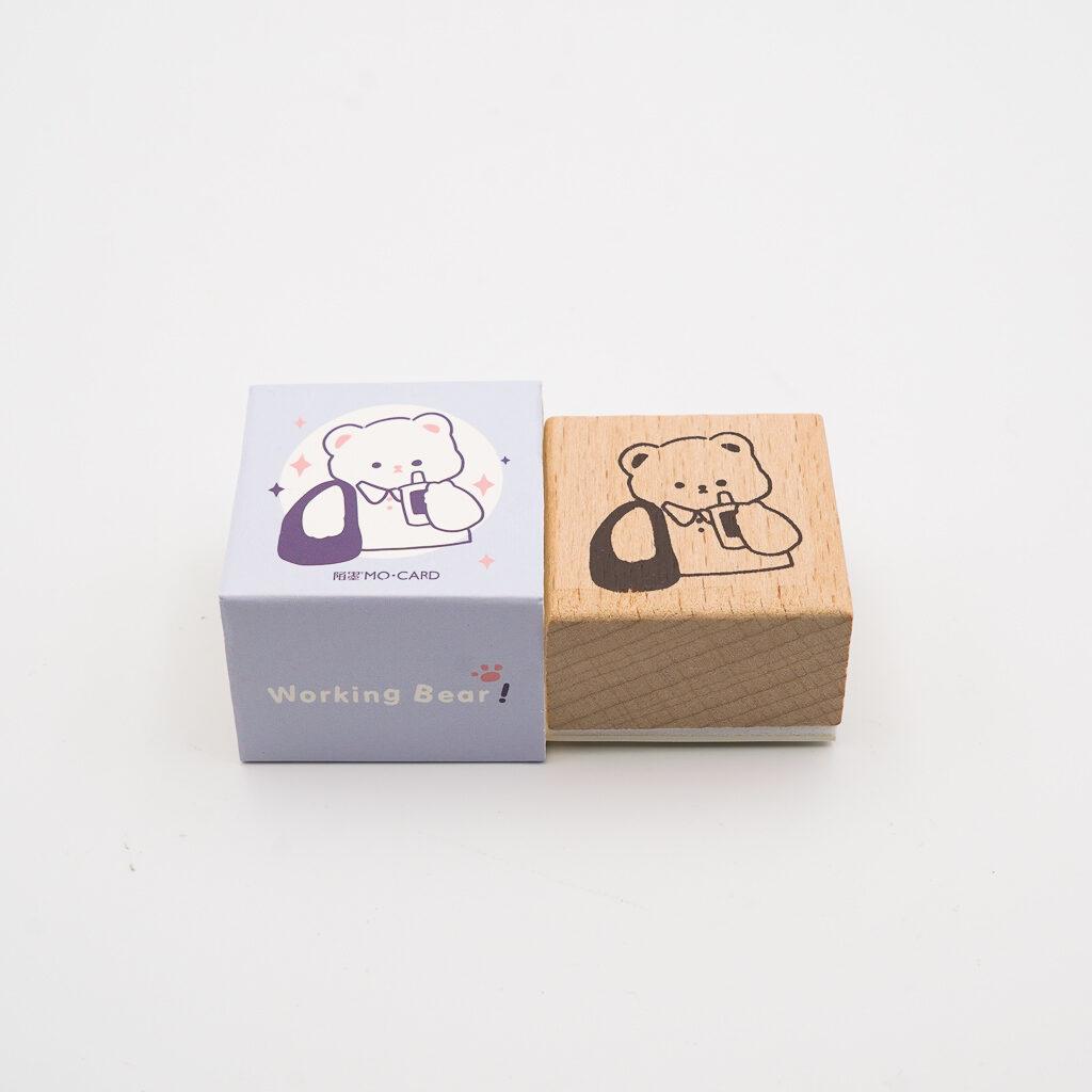 可愛いくまスタンプ MO・CARD 057