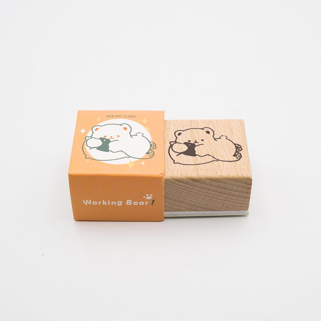可愛いくまスタンプ MO・CARD 058