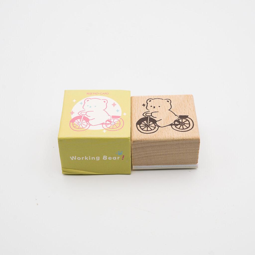 可愛いくまスタンプ MO・CARD 059