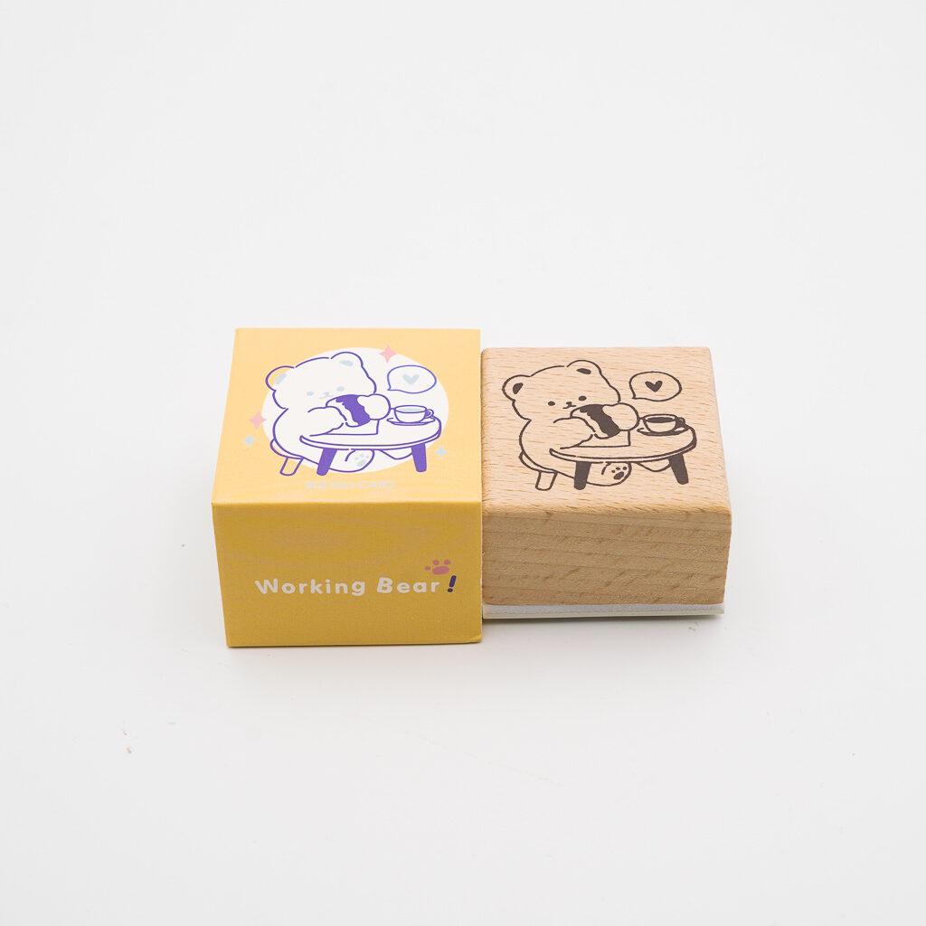 可愛いくまスタンプ MO・CARD 060
