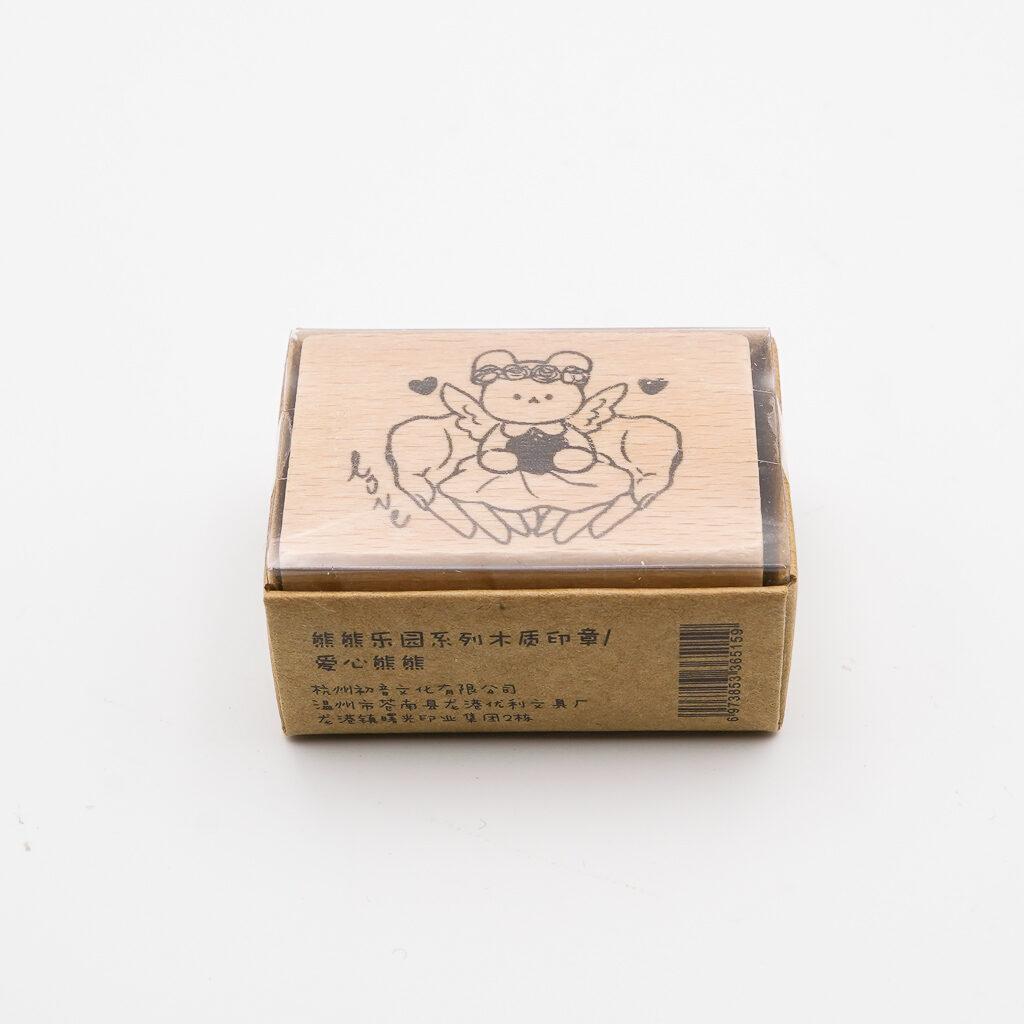 かわいいリボンのスタンプ 紙染  159