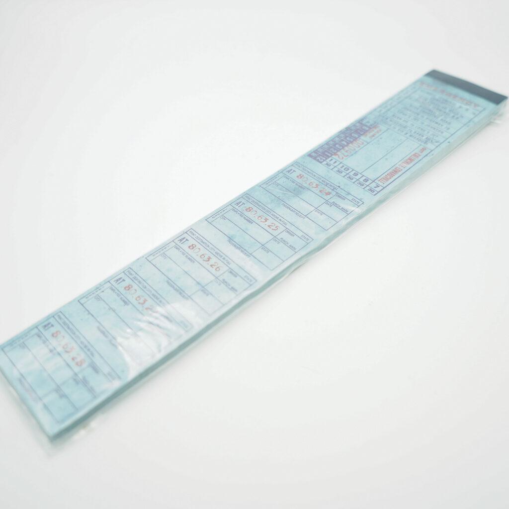 チケット素材紙001