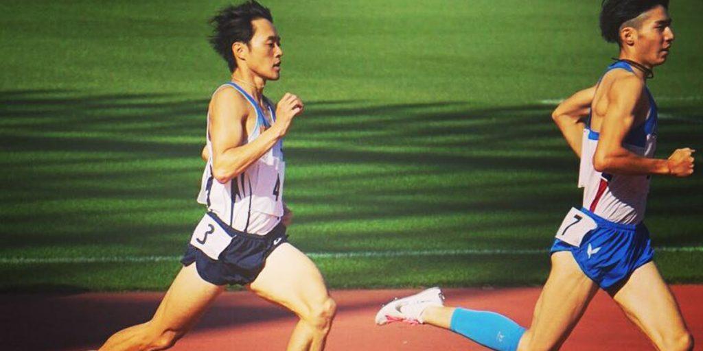 一社ロブレスポーツジャパン岐阜の中距離選手 市野さん(海外遠征の前にありがとうございます)