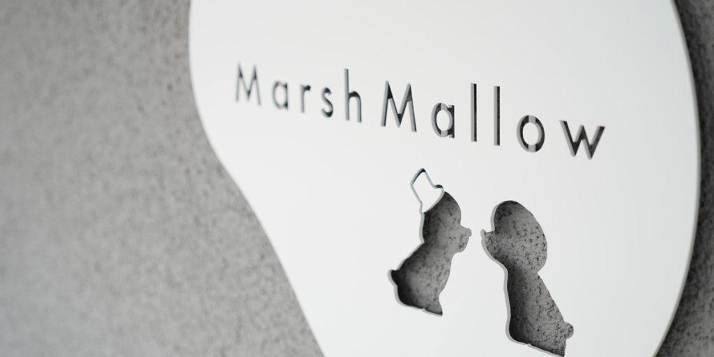【大垣市】Tea stand terrase Marsh Mallow OPEN ロゴマーク制作させてもらいました