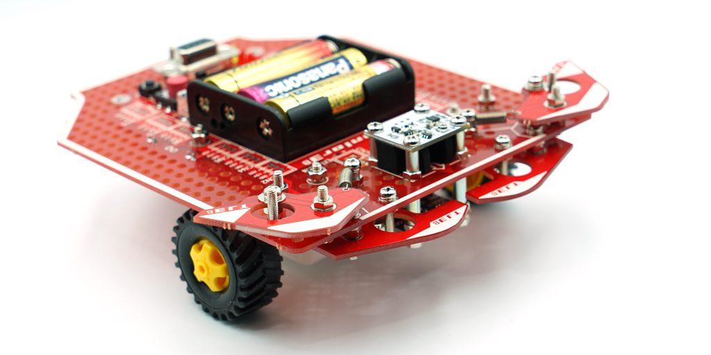 ダイセンのプログラミングロボットTJ3Bを13台も組み立てたのでYouTube
