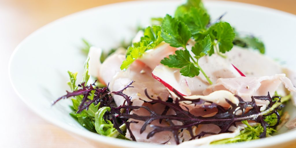 【vlog】ボンレスハムと新鮮野菜のサラダ