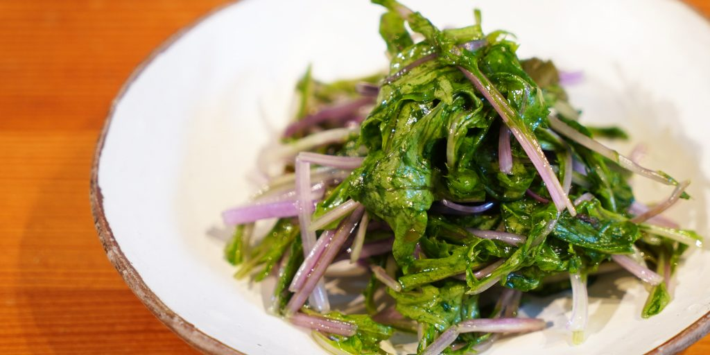 【vlog】紫水菜の浅漬け