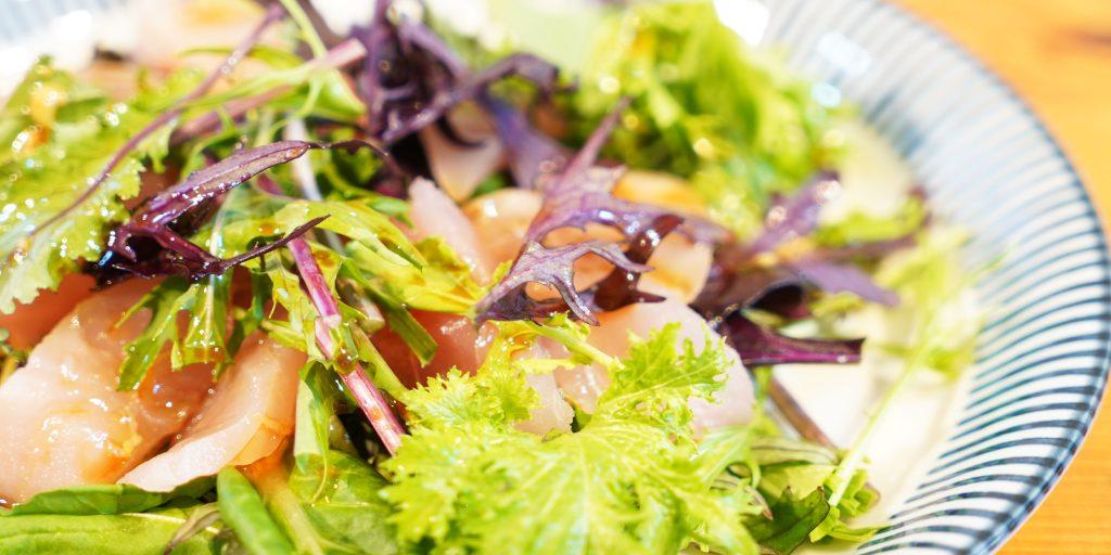 日本酒に合う料理「和風カルパッチョ」