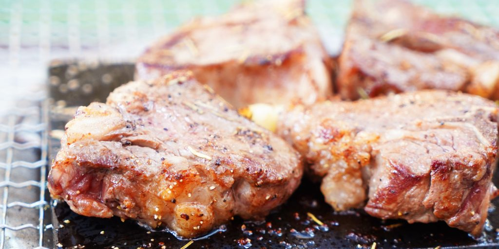 ラム肉のグリル ローズマリー