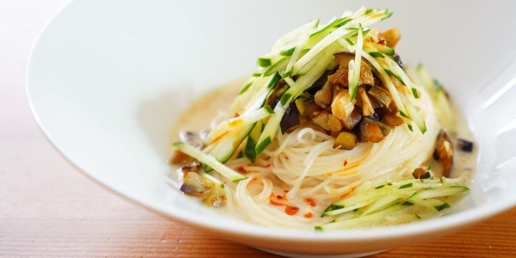 野菜だけの冷やし担々麺