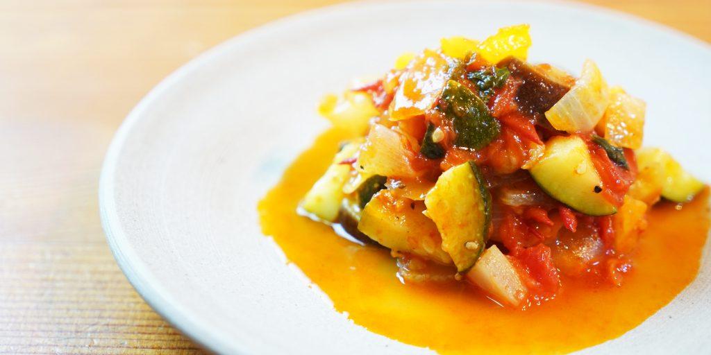 夏野菜いっぱいのラタトゥイユ