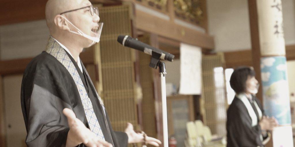 覚成寺さんにてお盆法要の撮影